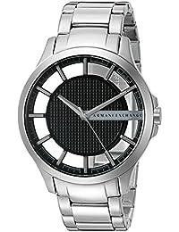 Armani Exchange Men's AX2179 Smart Watch Analog Display Analog Quartz Silver Watch