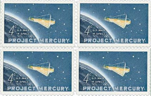 usa-space-stamps-3-blocks-of-4-mnh-project-mercury-apollo-11-first-man-on-the-moon-mariner-mission-t