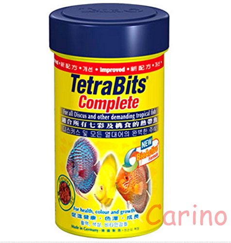 Tetrabits Complete Specially Formulated for the Fish to Live Longer and Stronger. For Fish Eat Middle of the Water or Ground Water 375 G. By Carino