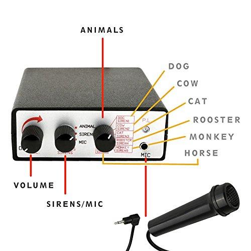 Pyle Siren Alert Horn Speaker Amp Microphone Emergency