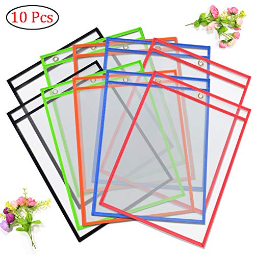 Reusable Pockets Sleeves Classroom Assorted product image
