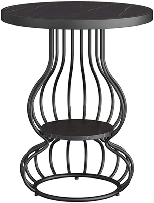 Populair Tafel Hoektafel, Beweegbare Marmeren Ontbijttafel, Salonbank Bijzettafel, Dubbel Balkon Kleine Ronde Tafel, Nachtkastje Picknicktafels (Color : Style4) Style5 LloAzZZ