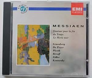 Messiaen:Quatuor Pour La Fin Du Temps