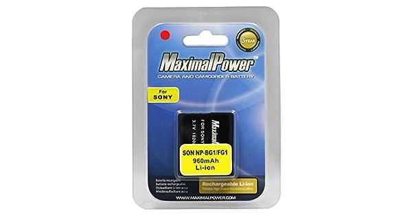 Amazon.com: Maximal Power Db hijo NP-BG1/FG1 – Batería de ...