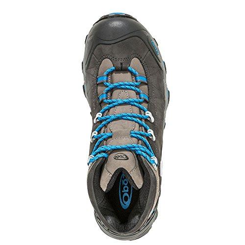 Oboz Mens Bridger Bdry Hiking Boot Shale Grey