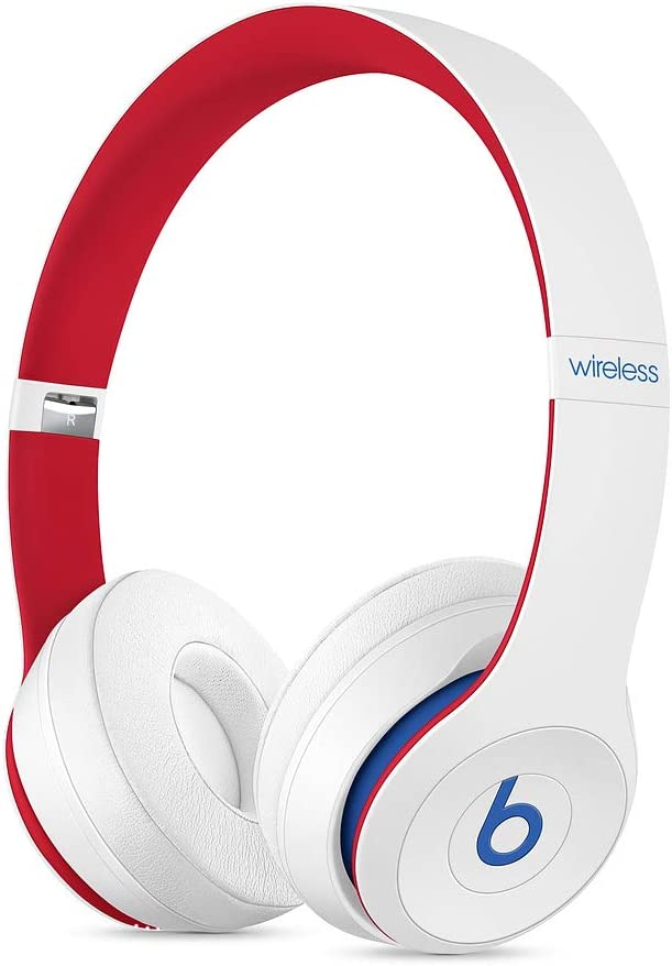 Beats Auriculares Abiertos Beats Solo3 Wireless – Beats Club Collection, Blanco Club