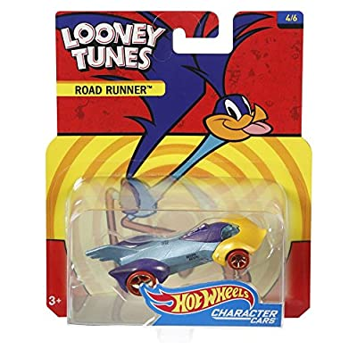 Hot Wheels Looney Tunes Roadrunner Vehicle: Toys & Games