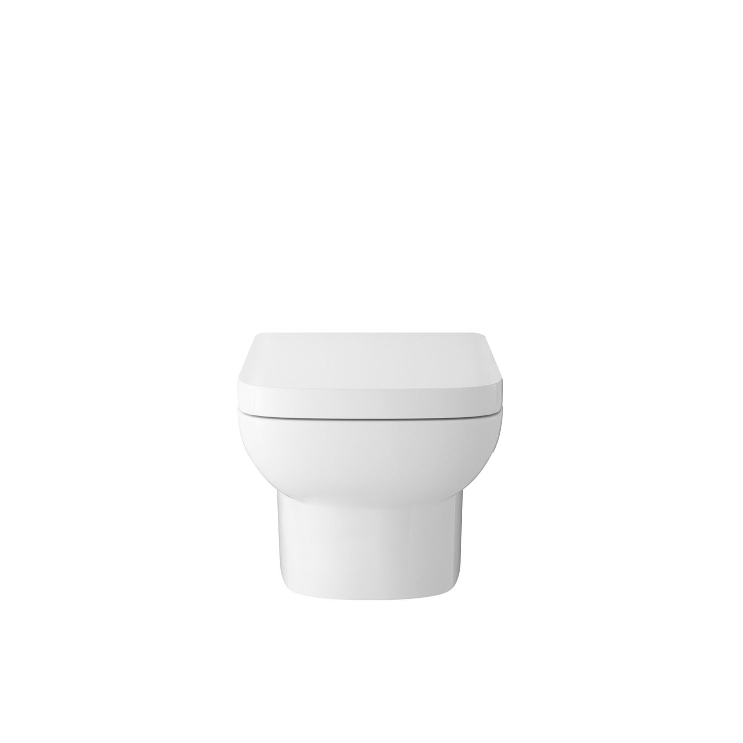 Hudson Reed CPA005 Oculus Semi Recessed Basin Pan and Seat, White