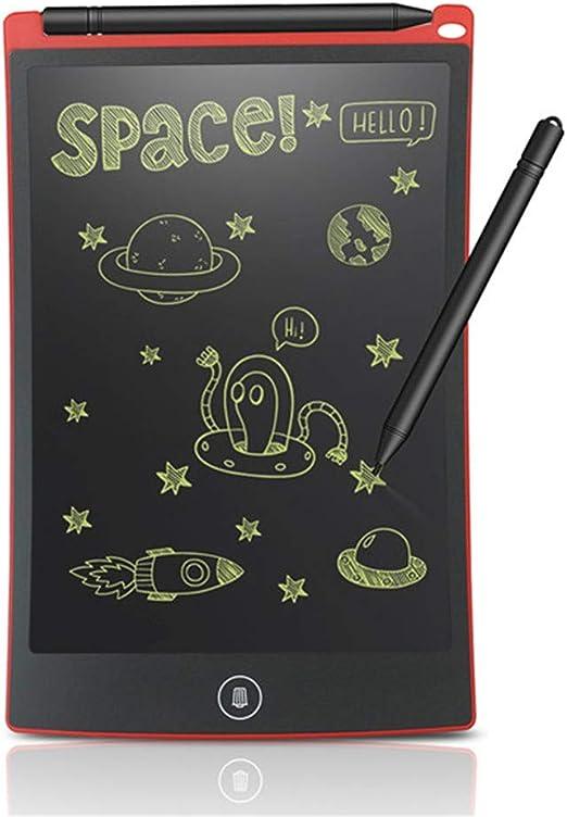 8.5インチLCDライティングタブレットデジタルドローイングタブレット手書きパッドポータブル電子タブレットボード超薄型ボード,赤