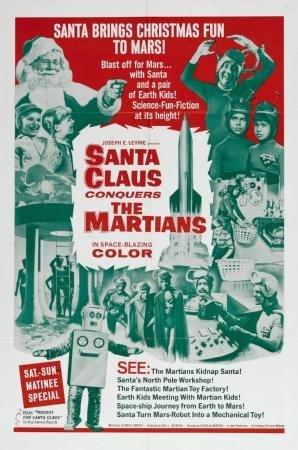 Conquers Martians Movie Poster - Santa Claus Conquers The Martians Movie Poster 24x36