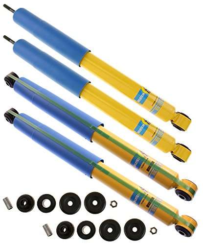 Bilstein 4600 Series Shock Absorbers For Dodge Ram 2500 4WD 2003-13 - Includes Front Shocks # 24-186070 & Rear Shocks # 24-186094