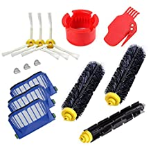 Theresa Hay Bristle Brush + Flexible Beater Brush + side Brush for iRobot Roomba 600 Series 529 550 595 610 620 625 630 650 655 660 670