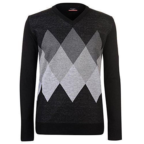 8592df51e70a89 Mens New Season Argyle Knitted Jumper Crew Neck V Neck and Quarter Zip -  Buy Online in Oman.   Clothing Products in Oman - See Prices, Reviews and  Free ...