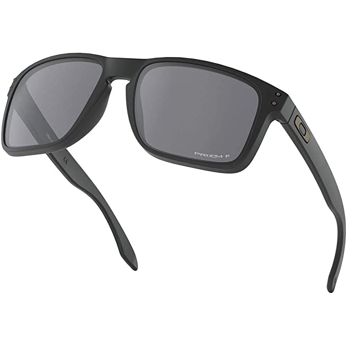 8d02bfecc7 Oakley Men s Holbrook XL Polarized Iridium Square Sunglasses MATTE BLACK  59.0 mm  Amazon.ca  Clothing   Accessories