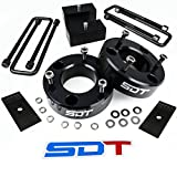 """Chevy GMC Silverado Sierra 1500 Full Lift Leveling Kit - 2.5"""" Front 2"""" Rear with Pinion Shims"""