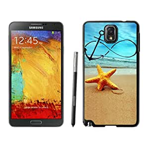 Infinity Anchor Forever Young Starfish Samsung Galaxy Note 3 Case Black Cell Phone Cover