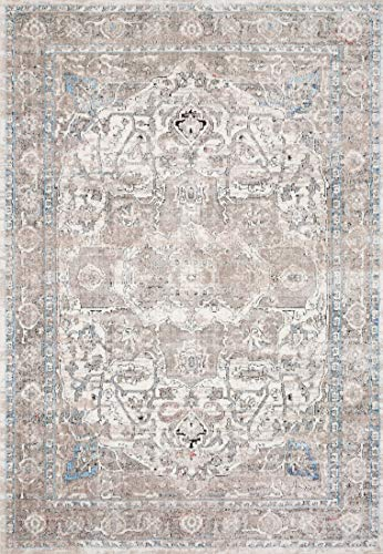 Loloi II DN-05 Dante Collection Modern Traditional Area Rug, 6'-7