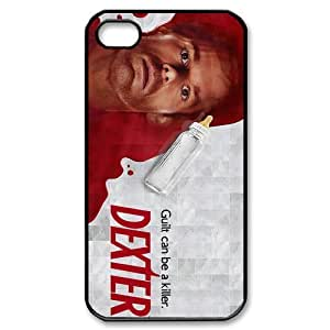 Custombox Dexter Iphone 4/4s Case Plastic Hard Phone Case for Iphone 4/4s-iPhone 4-DF02323
