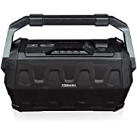 Toshiba TY-ASC20 Trolley Wireless Bluetooth Speaker: Rechargeable Water Resistant Indoor Outdoor Boombox