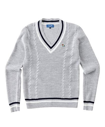 アーノルドパーマー ゴルフウェア セーター レディース チルデンセーター AP220404H01 LGY L