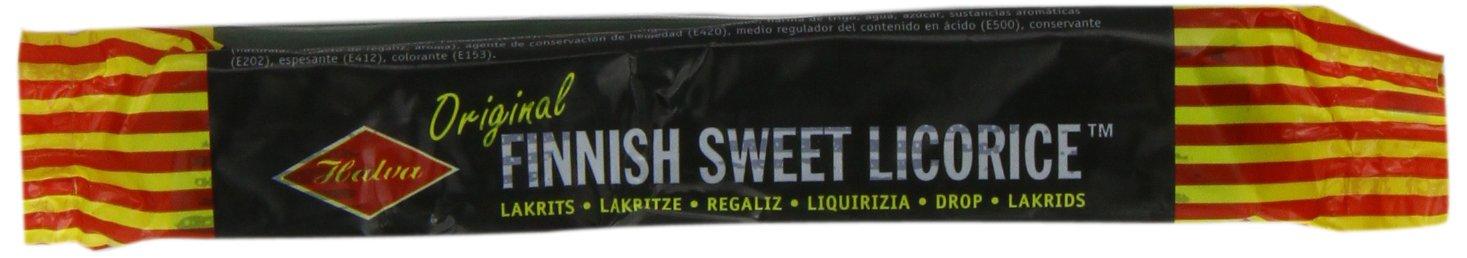 Halva Finnish Original Liquorice Bar (Pack of 20)