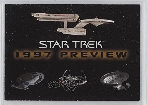 (Star Trek Preview (Trading Card) 1996 SkyBox Star Trek 1997 Preview - Promo #NoN)