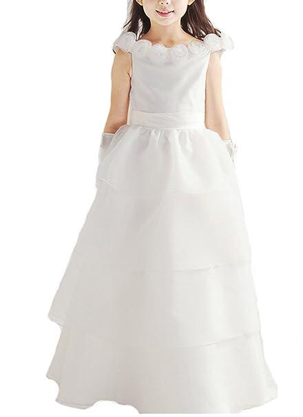 VLUNT - Vestido - para bebé niña Como Cuadro 4-5Años  Amazon.es  Ropa y  accesorios f41f4335cc9d