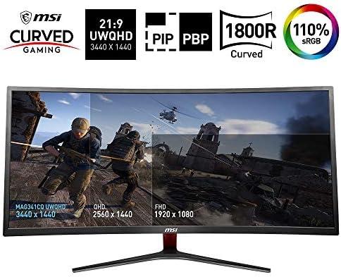 MSI Optix MAG341CQ - Monitor Gaming Curvo de 34