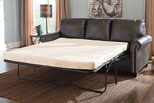 ashley furniture signature design lottie sleeper sofa queen size slate