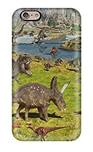 Defender Case With Nice Appearance (artistic Childrens Murals Dinosaurs) For Iphone 6 WANGJING JINDA
