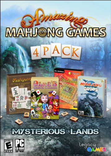 Amazing Mahjong Games (4 Pack)