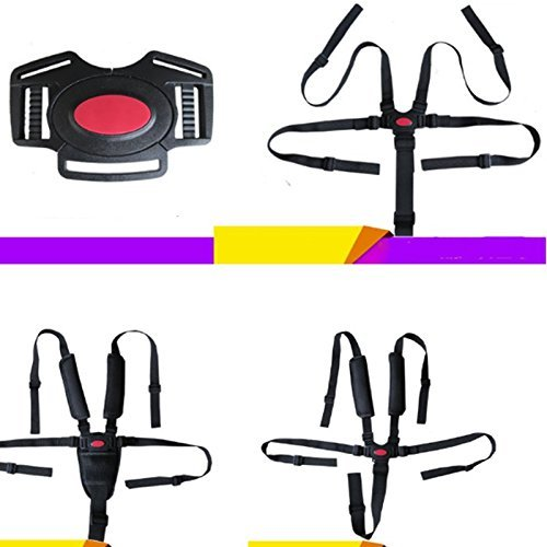LAAT Safety Belt for Baby Child 5 Points Safety Harness Belt for Stroller, High Chair Seat