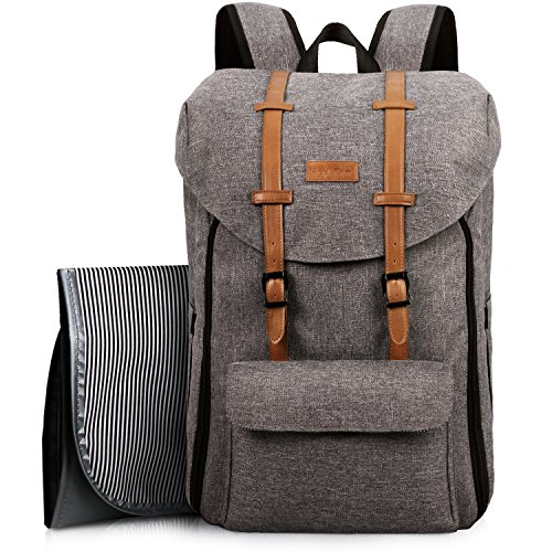HapTim Travel Baby Diaper Bag Backpack, Large Capacity/Easy