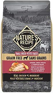 Nature's Recipe Small Breed Grain Free Chicken, Sweet Potato & Pumpkin Recipe Dog Fo