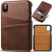 Capinha Para Celular Iphone Xs Max Tela 6.5 Flip Carteira Cover Wallet Com Porta Cartões Premium Classica