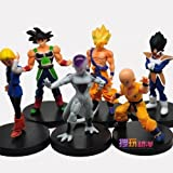Dragon Ball Z DBZ 5 inch Songukou Vegeta Kuririn Freeza Android #18 Action Figure 6PCS/SET