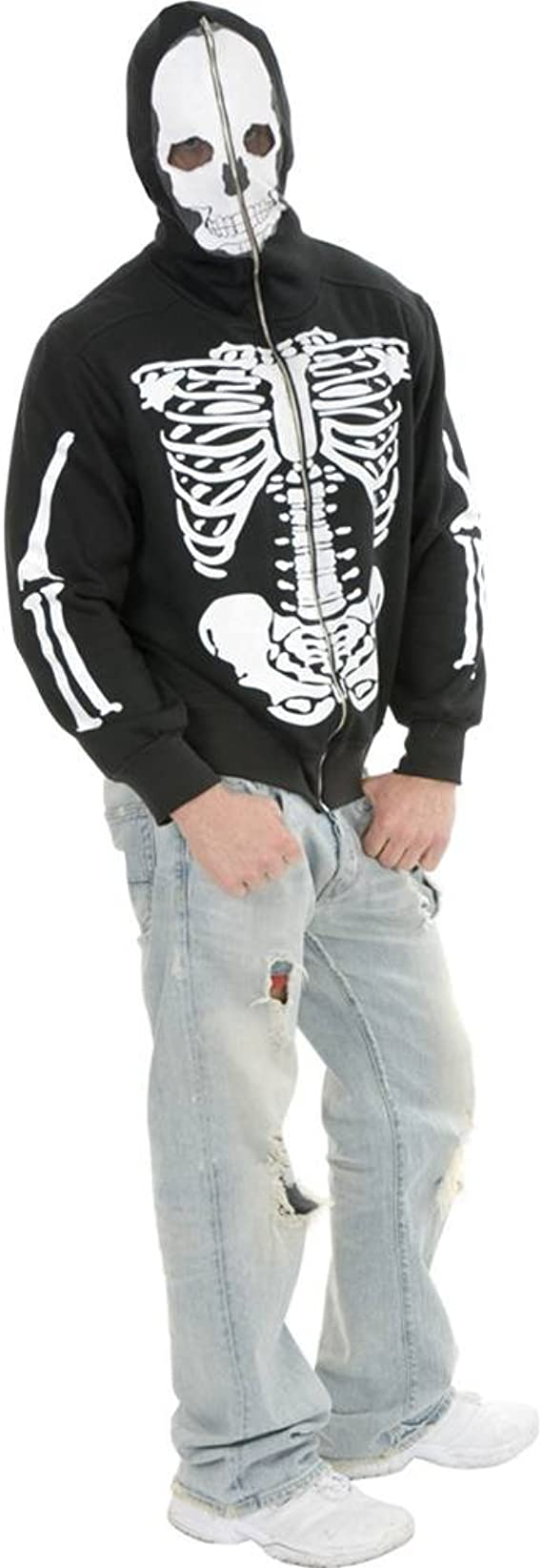 Mens Skeleton Hoodie Skeleton Sweatshirts
