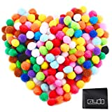 Arts & Crafts : Caydo 240 Pieces 1 Inch Assorted Pom Poms Pompoms for Hobby Supplies and DIY Creative Crafts Decorations