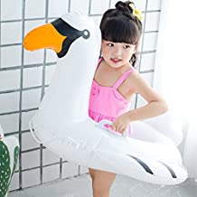 Floating Flamingo Drink Holder, Floatation Devices, Inflate Floating Coasters