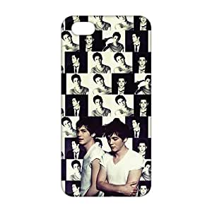 3D logan lerman For SamSung Galaxy S4 Phone Case Cover