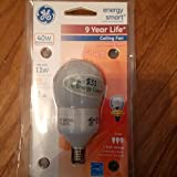 GE 11W A17 CFL Bulb