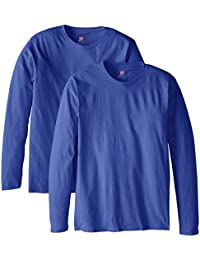 Men's Long-Sleeve Premium T-Shirt (Pack of 2)