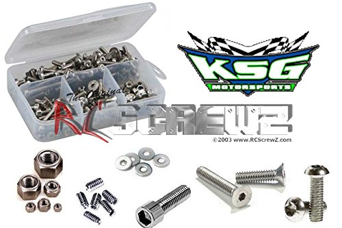 RC Screwz Stainless Steel Screw Kit for KSG Motorsports Gen 2 Slider #ksg002
