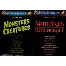 MGM Midnite Movies Monsters & Creatures + Vampires & Witchcraft Boxed Set 18-Movie Bundle