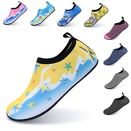 Pictures of LINGMAO Boys Water Shoes Barefoot Swimming Skin DD5050 6