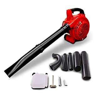 xbull Leaf Blower Powered Vacuum Handheld Commercial Yard Outdoor 26ccGasoline