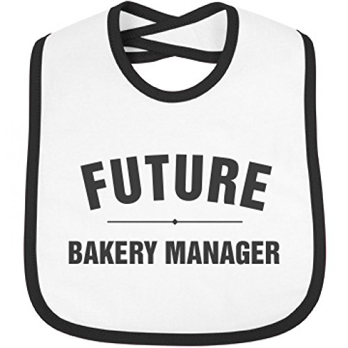 Price comparison product image Cute Future Bakery Manager: Infant Rabbit Skins Contrast Trim Bib