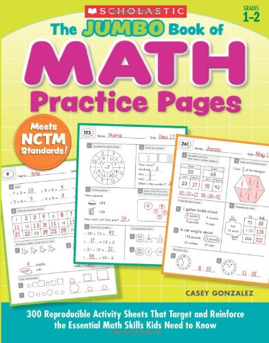 Amazon.com: The Jumbo Book of Math Practice Pages: 300 ...