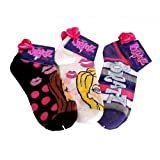 3 Piece Assorted Bratz Socks (Size 9-11) - Assorted Childrens Socks