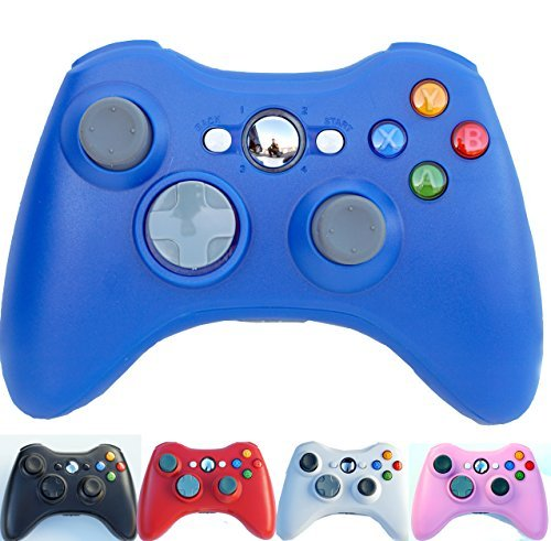 PomeMall Xbox 360 2.4G Wireless Controller (Blue) for sale  Delivered anywhere in USA